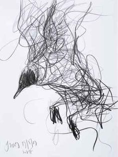 "i like this.. it reminds me of early elementary school when I was asked to draw a ""scribble bear"" for an assignment."
