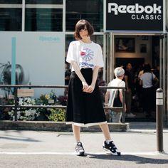 ドロップスナップ!玉城ティナ, Reebok CLASSIC アンバサダー | droptokyo