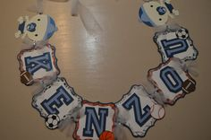 Sports theme Name Banner by CCreativeMind on Etsy