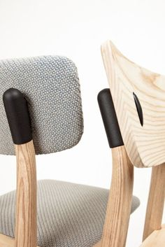 Clip Chair is a handcrafted solid ash wood chair en offers a variety of bespoke options. A perfect addition to any interior design. Design Furniture, Chair Design, Wood Furniture, Modern Furniture, Joinery Details, Inspiration Design, Daily Inspiration, Recycled Furniture, Take A Seat