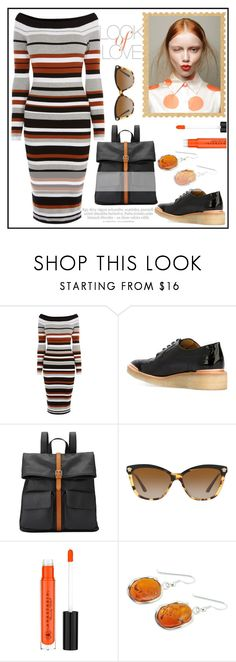 """""""LOOK OF LOVE!!!"""" by kskafida ❤ liked on Polyvore featuring Vince, Karen Millen, Avelon, John Lewis, Versace and Be-Jewelled"""