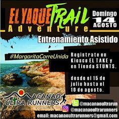 @Regrann from @macanaoultrarunners -  #ElYaqueTrailAdventure #MargaritaTerritorioTrail Estas Preparado? #DomingoDeTrail #14DeAgosto #MacanaoUltraRunners #Regrann