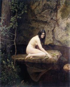 The Water Nymph  Hon. John Collier