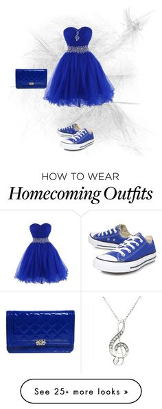 """Untitled #42"" by abicadabi-187 on Polyvore featuring Converse and Chanel"