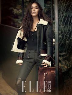 Hwang Se On and Daniel Henney - Elle Magazine November Issue 2014