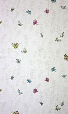 Osborne & Little - Butterfly Meadow by Osborne & Little | JUST KIDS WALLPAPER™