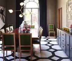 Dificil el negro pero espectacular en espacios grandes House & Home