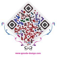 Fashion QRcode design