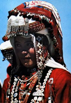 Afghanistan | Nomadic Kyrgyz from Pamir, in traditional dress | ©unknown