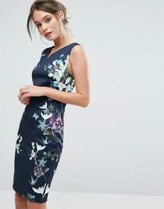Ted Baker Katiey Spring Meadows Midi Dress