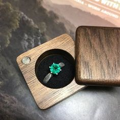Wooden ring box with a bow for proposals with personalization Engagement ring box Wooden Ring Box, Wooden Rings, Wooden Boxes, Diy Engagement Ring Box, Wedding Ring Box, Teak Oil, Ring Boxes, Black Pillows, Personalised Box