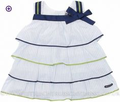 Layered Dress - TUTTO PICCOLO 3416 - Little Cherubs Clothing