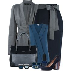 Untitled #6026 by ana-angela on Polyvore featuring moda, Jigsaw, Donna Karan, Sofie D'hoore, Tory Burch, Lipsy, Mark Davis, FACE Stockholm and OPI