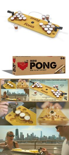 Sets 158955: Mini Beer Pong Adult Drinking Game Bring The Party Anywhere Christmas Gift New -> BUY IT NOW ONLY: $40.6 on eBay!