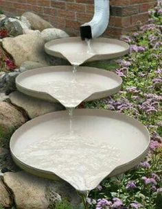 Nice way to deal with rain from your gutters.