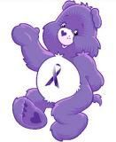 Here is a care bear for my daughter, may she have a good day.