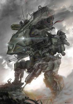 ArtStation - Shock Commando, Muh Dipo