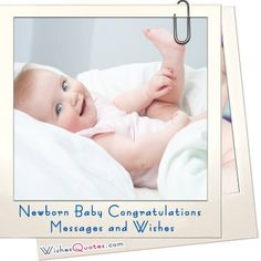 Newborn Baby Congratulations Messages and Wishes