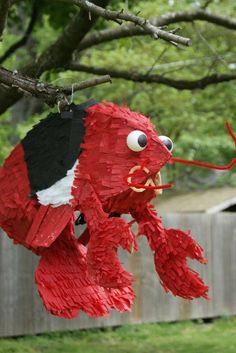 """The fella and I decided we wanted to have an Awesome Wedding Piñata. Sadly, the options at the party store did nothing for either of us, and the usual """"Coat a balloon in papier-mache!"""" method didn't seem likely to render a suitably Awesome result. So I mashed together a few different online tutorials, and I now share the magic! 13 steps of magic!"""