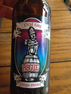 """""""Dead Guy Ale"""" from Rogue Ales   27 Of The Most Amazing Craft Beer Names You'll Ever See"""