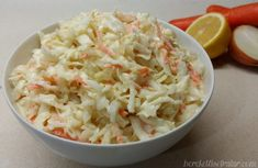 Beyaz Lahana Salatası White Cabbage Salad Recipe White coleslaw is a type of salad usually sold in fast food restaurants under the name of coleslaw. # Lahanasalata of cabbage Cabbage Salad Recipes, Healthy Salad Recipes, Raw Food Recipes, Creamy Cole Slaw Recipe, Coleslaw Recipe Easy, Coleslaw Salad, Creamy Coleslaw, Turkish Recipes, Ethnic Recipes