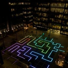 illuminated floor
