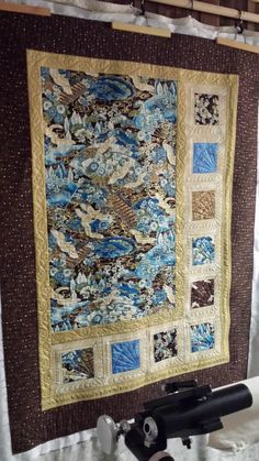 What do you think of this Oriental Quilt by Gail? We love how she incorporated the feathers into the corners of the blocks. Outstanding job!