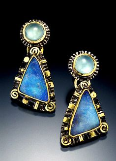 by Laurie MacAdam, boulder opal