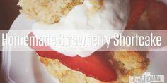 Homemade Strawberry Shortcake Recipe - littleindiana.com