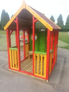A very Colourful Play Shelter! Perfect for little children!