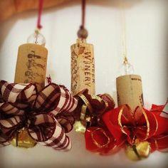 Wine Cork Christmas Ornaments Homemade