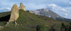 Rock fins along Cuchara Pass by oldmantravels, via Flickr