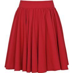 Reiss Alana Full Gathered Skirt