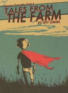 "2008 ALEX Awards-- ""A graphic novel in which Lester, a recently orphaned boy, is sent to his uncle's farm in Southwestern Ontario, where he befriends a damaged former hockey star and the two escape to a private fantasy world."""