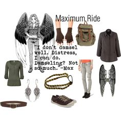 Maximum Ride, created by rachel363 on Polyvore