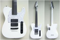 Going off of my 7-string binge along with my new-found respect for Deftones, this ESP 7-string neck-thru tele fills me with lust. I've known about this guitar for over a year now, but t problem is I can't find it anywhere to buy or how much it costs. So sad.