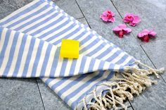Acacia Turkish Towel - Blue  https://www.turkishia.com/collections/turkish-coffee-cups  Blue Turkish Bath Towels. You can also use them as beach towels or garden towels!