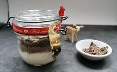 Cookies au chocolat en pot à offrir Pots, Le Cacao, Panna Cotta, Ethnic Recipes, Jars, Cookware, Saucepans, Planters