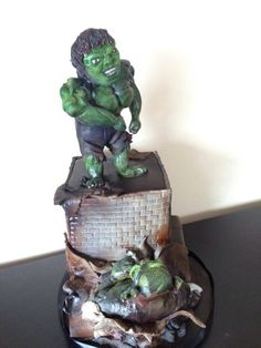 The Incredible Hulk vs Abomination Birthday Cake