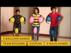 25 Ideas For Balloon Games For Kids Team Building Kids Team Building Games, Team Games For Kids, Balloon Games For Kids, Camping Games For Adults, Games For Ladies, Youth Games, Family Fun Games, Adult Games, Race Games