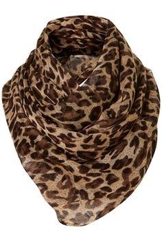 Leopard Scarf - StyleSays