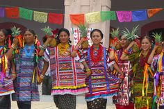 Pineapple Dance, Oaxaca, Mexico.