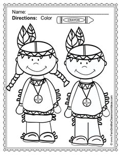#Thanksgiving Fun! Color For Fun Printable Coloring Pages - 42 coloring pages…