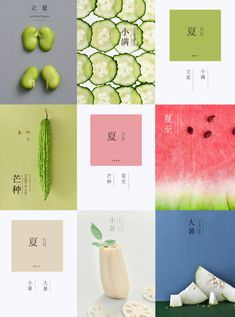 中国24节气 china 24 solar terms on Behance