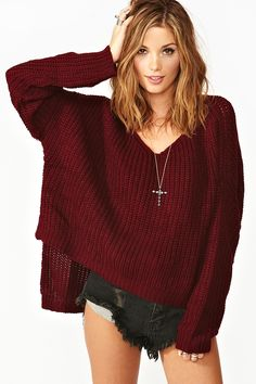 Cambridge Knit - Wine at Nasty Gal  http://www.nastygal.com/lookbooks_in-the-mood/cambridge-knit-wine#