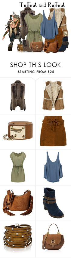 """Tuffnut & Ruffnut - Dreamworks How to Train Your Dragon"" by rubytyra ❤ liked on Polyvore featuring Boohoo, Hollister Co., Dsquared2, Faith Connexion, RVCA, MICHAEL Michael Kors, White Mountain, Sif Jakobs Jewellery and Luciano Barachini"