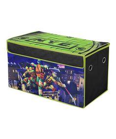 Look at this #zulilyfind! Teenage Mutant Ninja Turtles 'NYC' Collapsible Storage Trunk by Idea Nuova #zulilyfinds