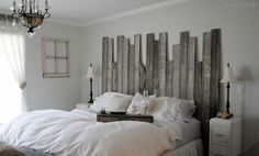 designs from reclaimed wood | ... Is This Rustic Headboard Design Made From Reclaimed Barn Wood Image
