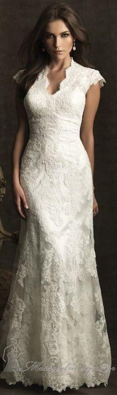 Allure  Dresshttps://groups.diigo.com/group/boat-neck-ivory-lace-long-bridesmaid-dress-with-34-length-s