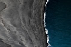 This HD wallpaper is about landscape black sand birds eye view Iceland vik sea, Original wallpaper dimensions is file size is Iphone 7, Sand Pictures, Black Magic Spells, Black Sand, Birds Eye View, Aerial View, Ecology, Nature Photos, Free Images
